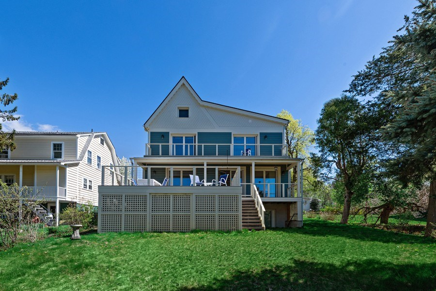Real Estate Photography - 15 High St, Cold Spring, NY, 10516 - Rear View