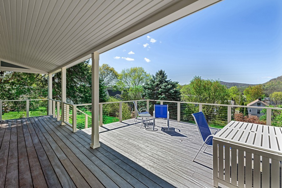 Real Estate Photography - 15 High St, Cold Spring, NY, 10516 - Deck