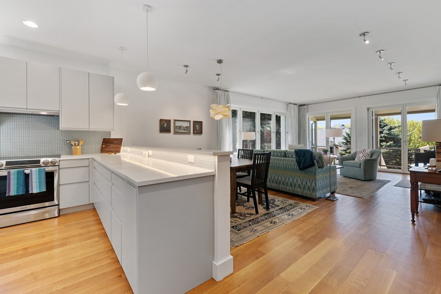 Real Estate Photography - 15 High St, Cold Spring, NY, 10516 - Kitchen / Living Room