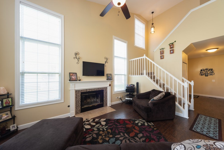 Real Estate Photography - 230 Partridge Ct, Algonquin, IL, 60102 - Living Room