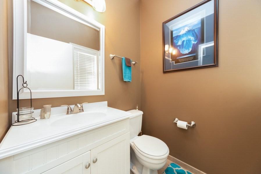 Real Estate Photography - 230 Partridge Ct, Algonquin, IL, 60102 - Half Bath