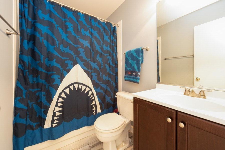 Real Estate Photography - 230 Partridge Ct, Algonquin, IL, 60102 - 2nd Bathroom