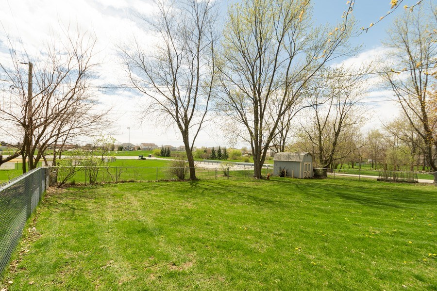 Real Estate Photography - 682 Charlotte Court, New Lenox, IL, 60451 - Back Yard