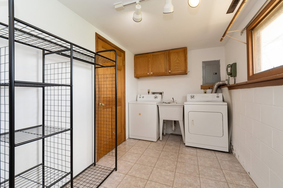 Real Estate Photography - 682 Charlotte Court, New Lenox, IL, 60451 - Laundry Room