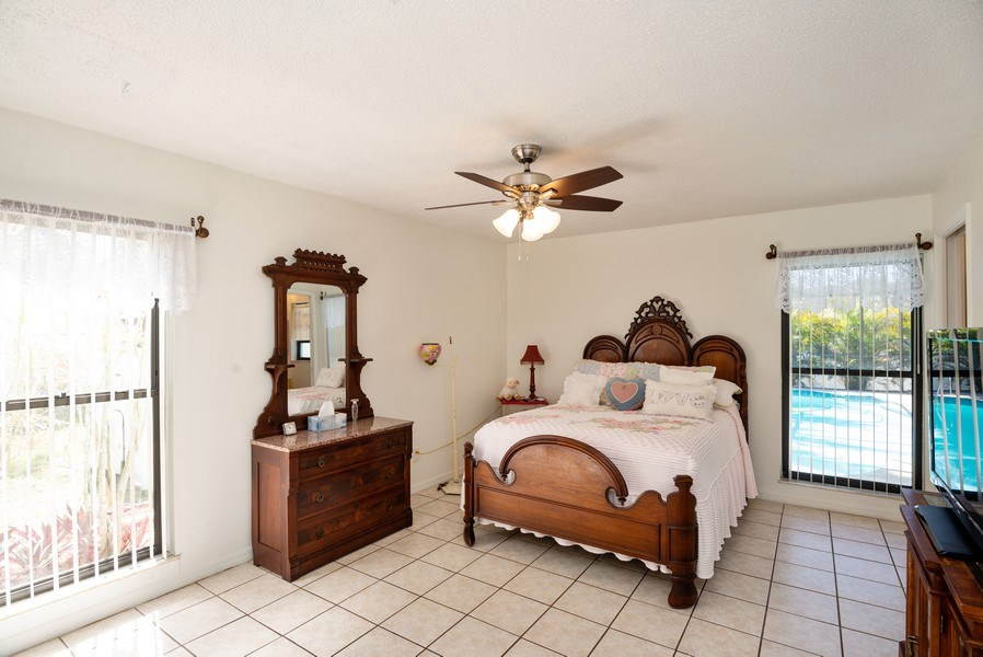 Real Estate Photography - 1735 17th Lane SW, Vero Beach, FL, 32962 - Master Bedroom