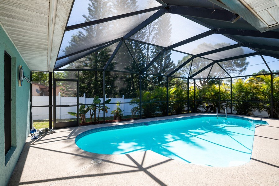 Real Estate Photography - 1735 17th Lane SW, Vero Beach, FL, 32962 - Pool