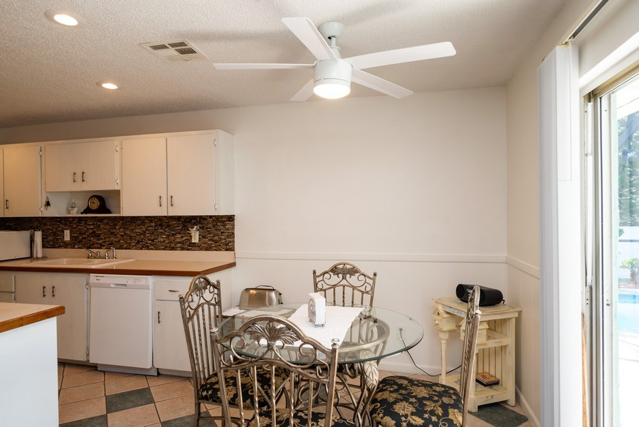 Real Estate Photography - 1735 17th Lane SW, Vero Beach, FL, 32962 - Breakfast Nook