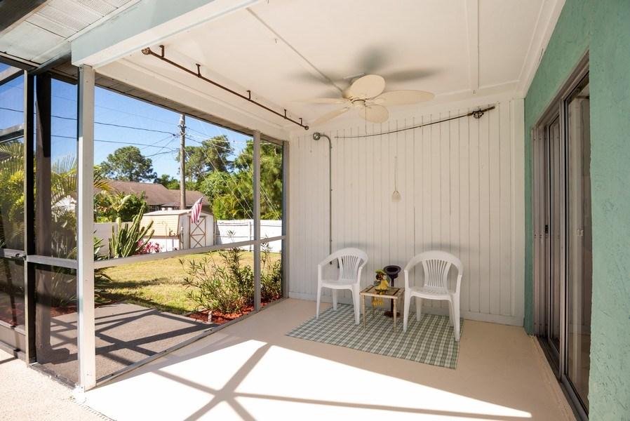 Real Estate Photography - 1735 17th Lane SW, Vero Beach, FL, 32962 - Patio