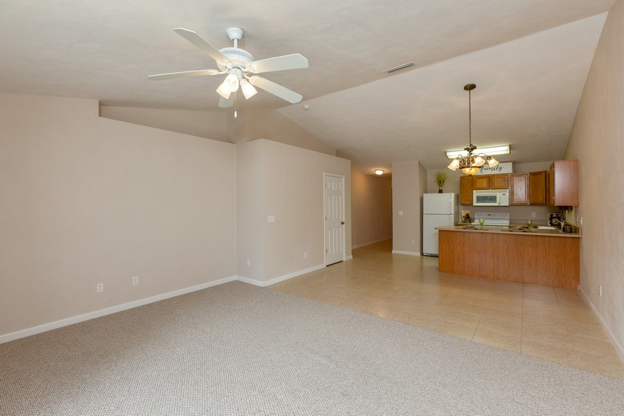Real Estate Photography - 6 Serenade Place, Palm Coast, FL, 32164 - Kitchen/Living