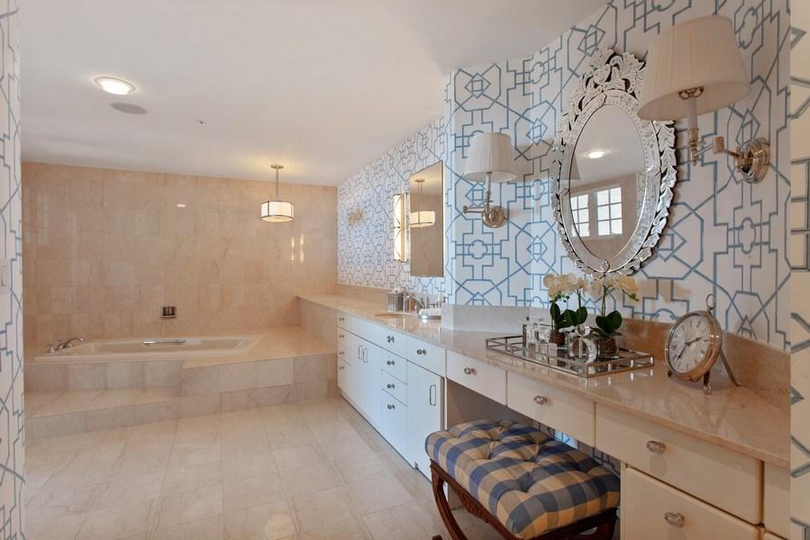 Real Estate Photography - 7765 Fisher Island Dr, Miami Beach, FL, 33109 - Master Bathroom