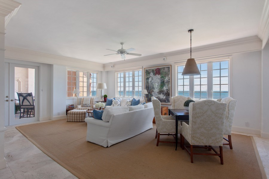 Real Estate Photography - 7765 Fisher Island Dr, Miami Beach, FL, 33109 - Family Room