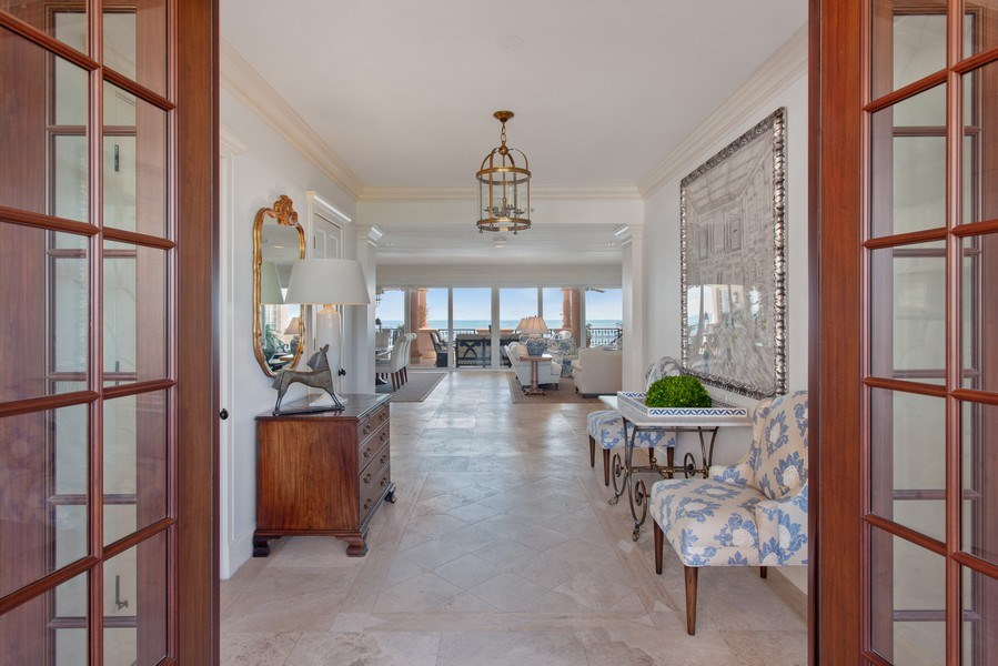 Real Estate Photography - 7765 Fisher Island Dr, Miami Beach, FL, 33109 - Entryway