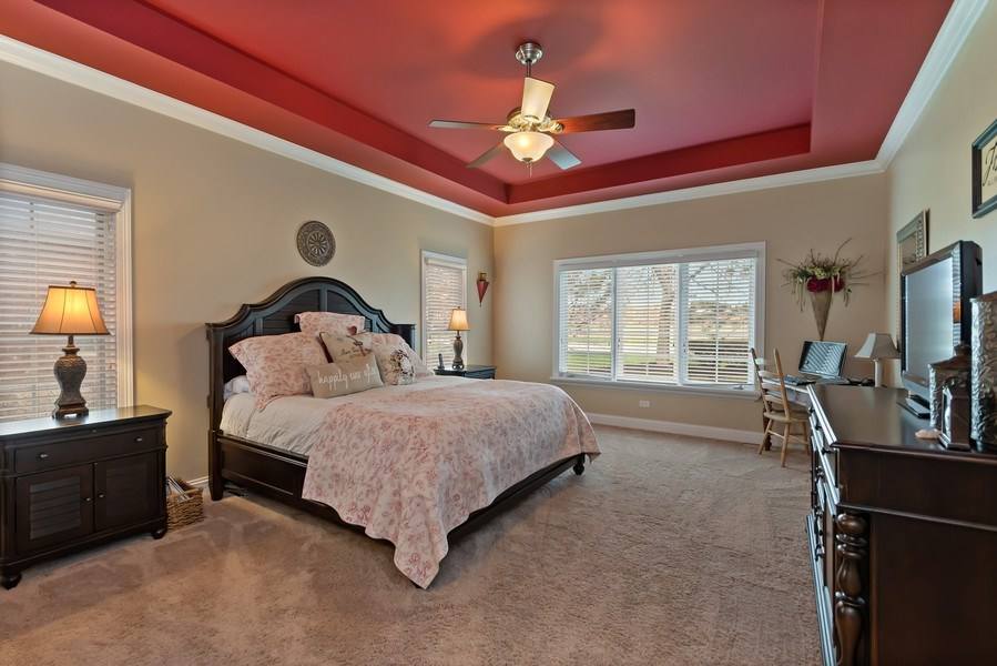 Real Estate Photography - 11650 Sapphire Ct, Frankfort, IL, 60423 - Master Bedroom