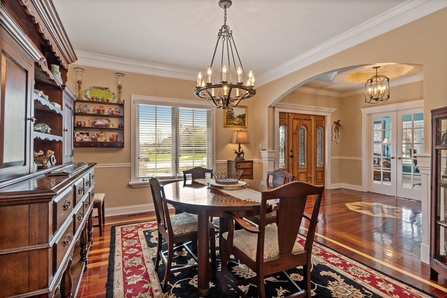 Real Estate Photography - 11650 Sapphire Ct, Frankfort, IL, 60423 - Dining Room