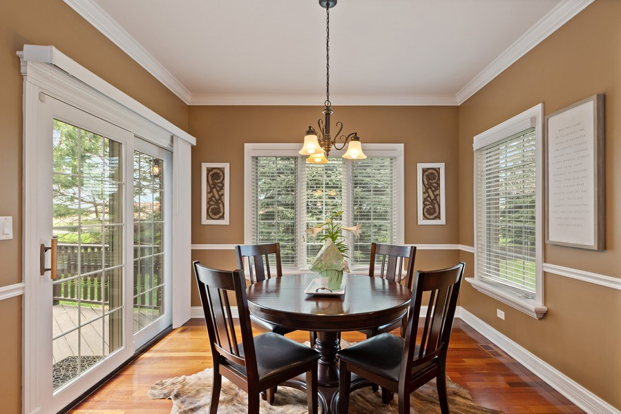 Real Estate Photography - 11650 Sapphire Ct, Frankfort, IL, 60423 - Breakfast Nook