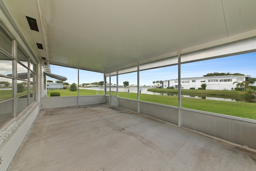 Real Estate Photography - 133 NW 14th St, Boynton Beach, FL, 33426 - Patio