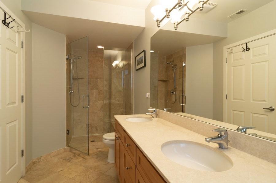 Real Estate Photography - 1506 W Grand Ave, 2E, Chicago, IL, 60642 - Master Bathroom