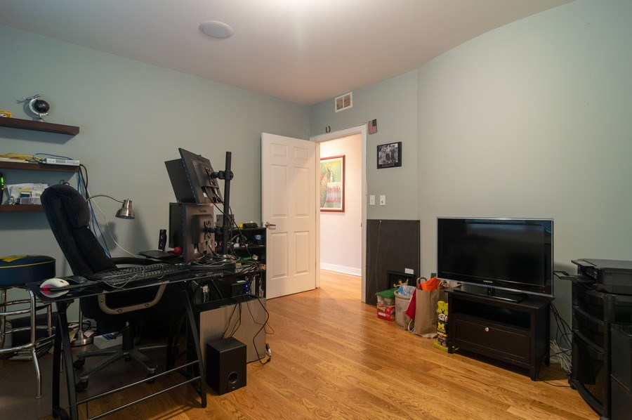 Real Estate Photography - 1506 W Grand Ave, 2E, Chicago, IL, 60642 - 2nd Bedroom