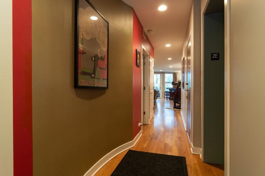Real Estate Photography - 1506 W Grand Ave, 2E, Chicago, IL, 60642 - Foyer
