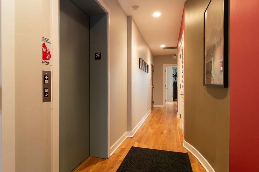 Real Estate Photography - 1506 W Grand Ave, 2E, Chicago, IL, 60642 - Elevator