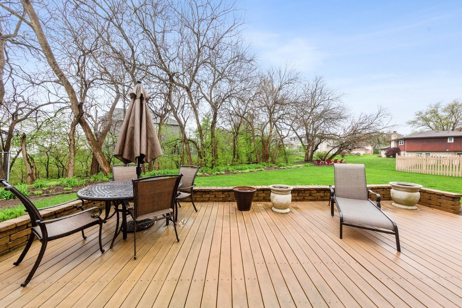 Real Estate Photography - 10S320 Jamie Ln, Willowbrook, IL, 60527 - Patio