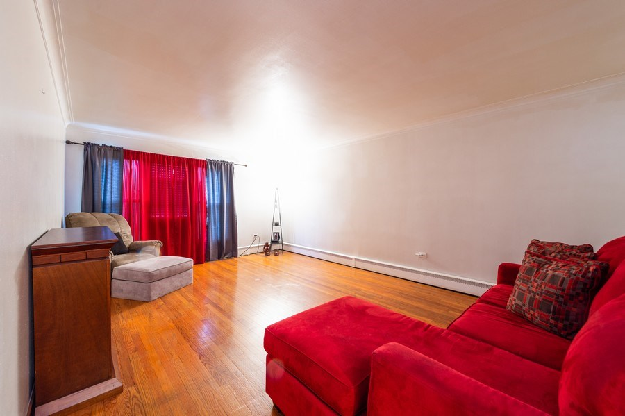 Real Estate Photography - 3115 W 71st St, Chicago, IL, 60629 - Living Room
