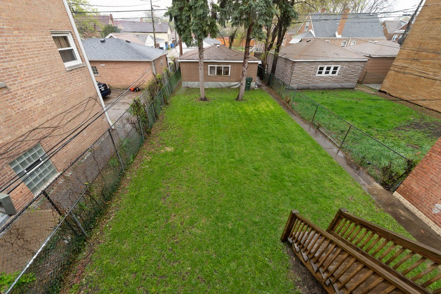 Real Estate Photography - 3115 W 71st St, Chicago, IL, 60629 - Back Yard