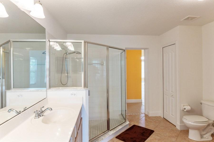 Real Estate Photography - 12 Remington Road, Ormond Beach, FL, 32174 - Master Bathroom
