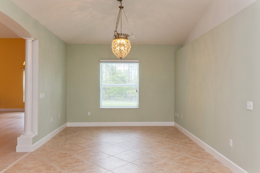 Real Estate Photography - 12 Remington Road, Ormond Beach, FL, 32174 - Dining Room