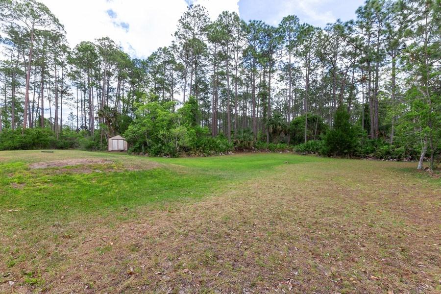 Real Estate Photography - 12 Remington Road, Ormond Beach, FL, 32174 - Back Yard