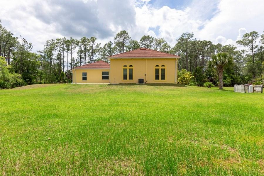 Real Estate Photography - 12 Remington Road, Ormond Beach, FL, 32174 - Rear View