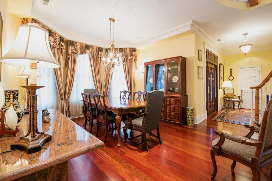 Real Estate Photography - 4430 S Emerald Ave, Chicago, IL, 60609 - Dining Room