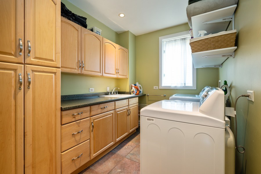 Real Estate Photography - 4430 S Emerald Ave, Chicago, IL, 60609 - Laundry Room