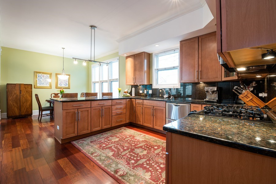 Real Estate Photography - 4430 S Emerald Ave, Chicago, IL, 60609 - Kitchen