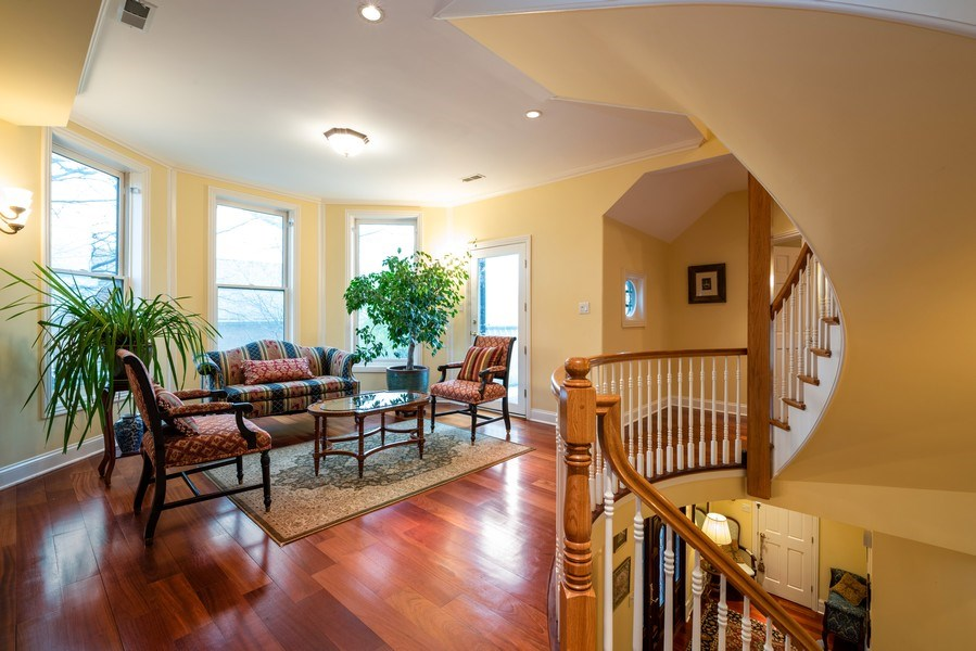 Real Estate Photography - 4430 S Emerald Ave, Chicago, IL, 60609 - Den