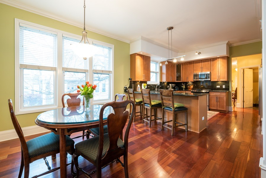 Real Estate Photography - 4430 S Emerald Ave, Chicago, IL, 60609 - Kitchen / Dining Room
