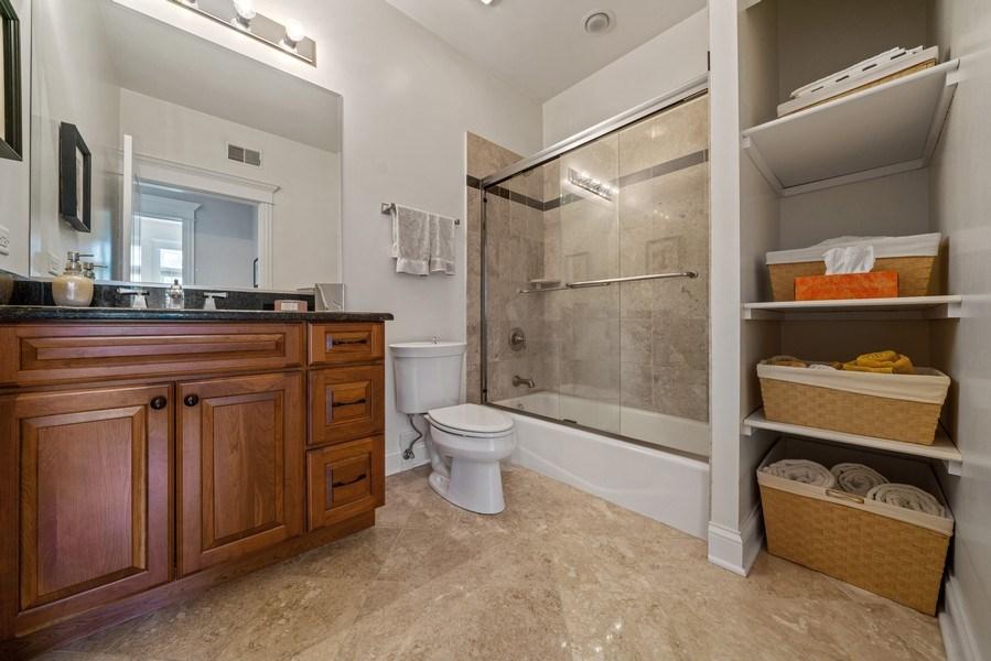 Real Estate Photography - 1021 Peterson, Unit 306, Park Ridge, IL, 60068 - Master Bathroom