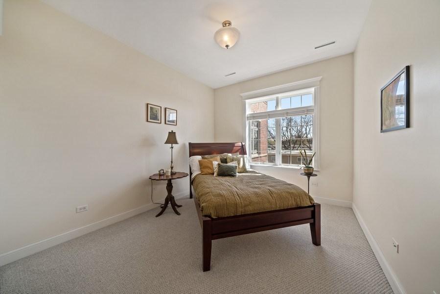 Real Estate Photography - 1021 Peterson, Unit 306, Park Ridge, IL, 60068 - Master Bedroom
