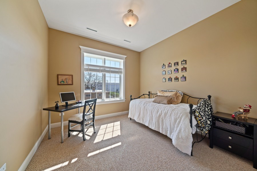 Real Estate Photography - 1021 Peterson, Unit 306, Park Ridge, IL, 60068 - 2nd Bedroom