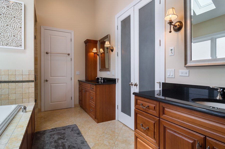 Real Estate Photography - 2606 N Kimball Ave, Chicago, IL, 60647 - Master Bathroom