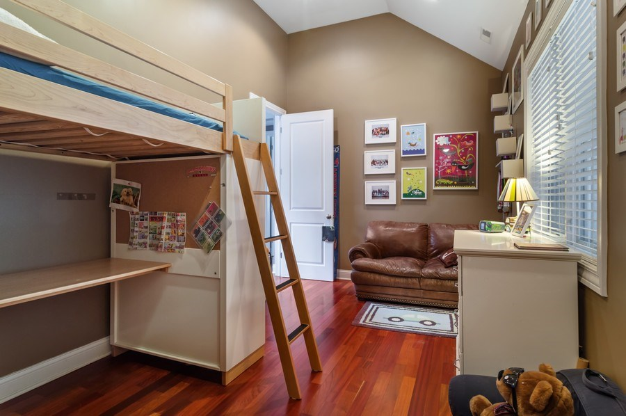 Real Estate Photography - 2606 N Kimball Ave, Chicago, IL, 60647 - 3rd Bedroom