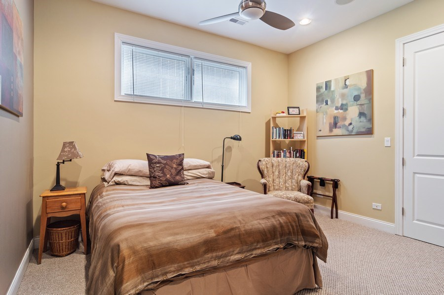 Real Estate Photography - 2606 N Kimball Ave, Chicago, IL, 60647 - 4th Bedroom