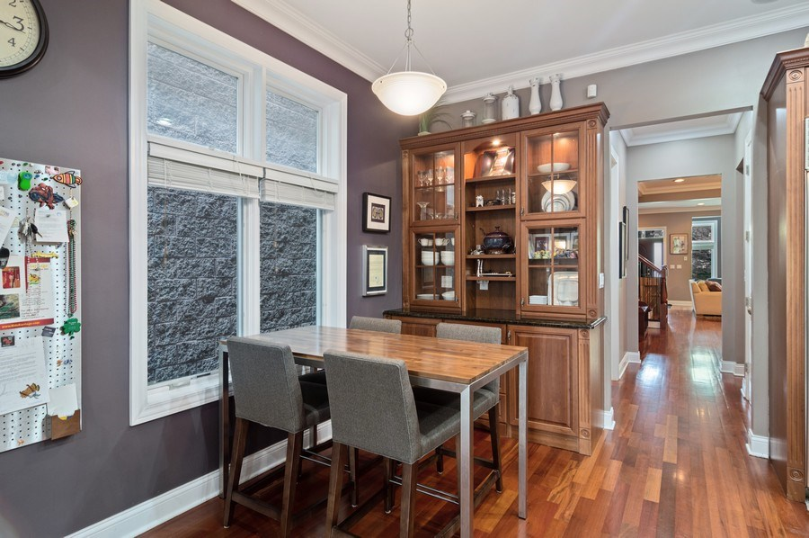 Real Estate Photography - 2606 N Kimball Ave, Chicago, IL, 60647 - Kitchen / Breakfast Room
