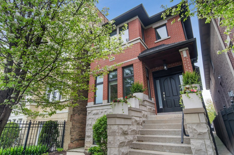 Real Estate Photography - 2606 N Kimball Ave, Chicago, IL, 60647 - Front View