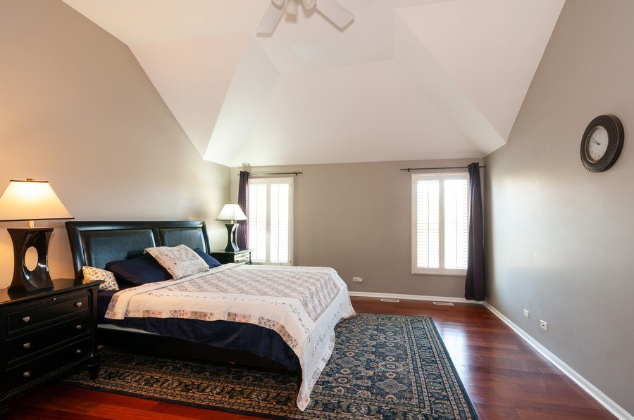 Real Estate Photography - 2065 Clementi, Aurora, IL, 60503 - Master Bedroom