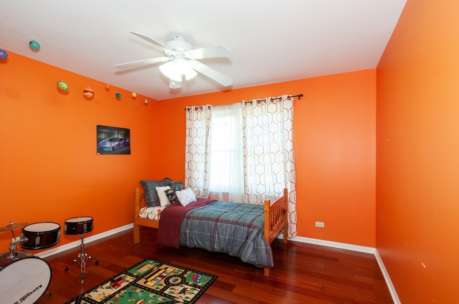 Real Estate Photography - 2065 Clementi, Aurora, IL, 60503 - 2nd Bedroom