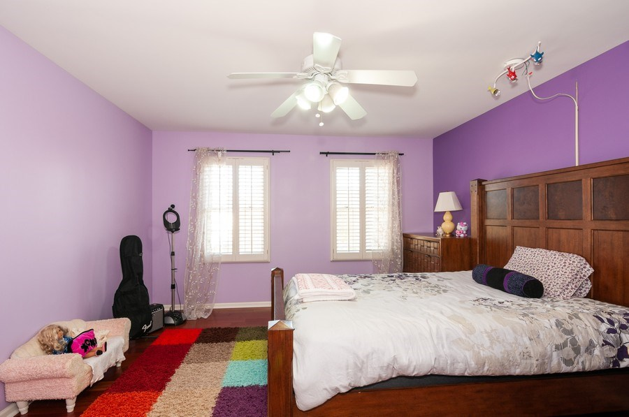 Real Estate Photography - 2065 Clementi, Aurora, IL, 60503 - 3rd Bedroom