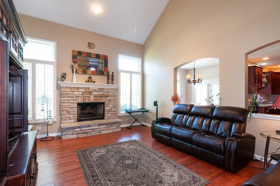Real Estate Photography - 2065 Clementi, Aurora, IL, 60503 - Family Room