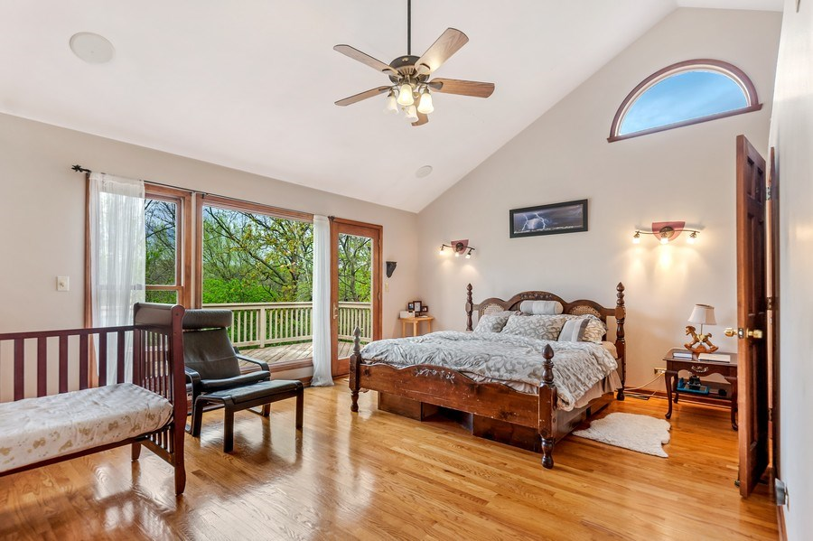 Real Estate Photography - 102 N Hubbard, Algonquin, IL, 60102 - Master Bedroom