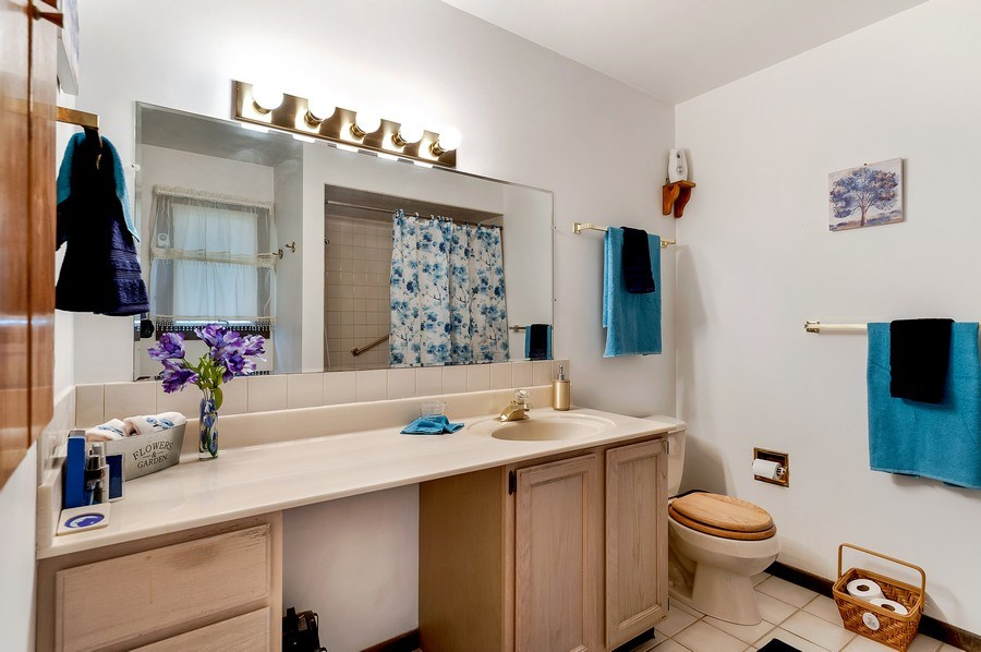 Real Estate Photography - 151 W Depot, Antioch, IL, 60002 - Master Bathroom